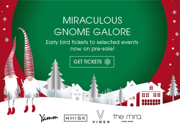 This festive season The Mira Hong Kong turns into a jolly gnome galore! Order now to experience festive events at The Mira Hong Kong filled with winter specials, festive gift ideas, Christmas dining, and New Year's Eve celebrations!